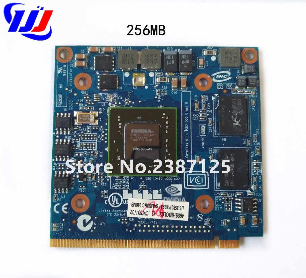 ل الحاخامين A spire7520G 7530G 7720G 7730G سلسلة محمول n Vidia غيفورسي 8400 M 8400MGS MXM II DDR2 256 MB VGA بطاقة رسومات الفيديو
