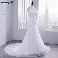 Hot Sale Wedding Dresses New Fasion Vestidos De Noiva Elegant Mermaid Wedding Dress 2015