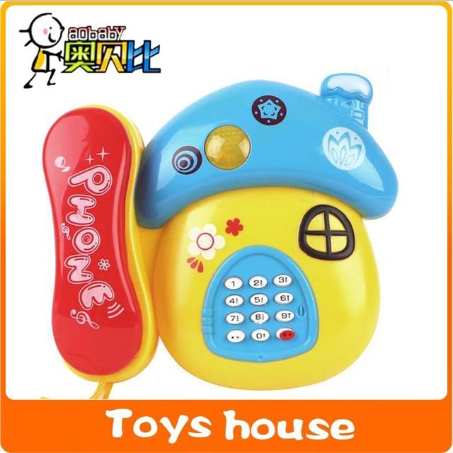 Mushrooom Electronic Toys Baby Phone Children S Phone Toy Telephone