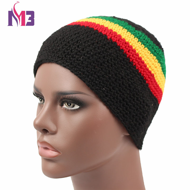 Women Men Casual Knitted Rasta Hat Winter Warm Handmade Crochet Hat Jamaica Style Beanie Caps Bob Marley Rasta Reggae Hat jamaican rasta hat bob marley hat jameican hat tams fancy dress costumes crochet rasta beanies gorro bob marley cap rh 18