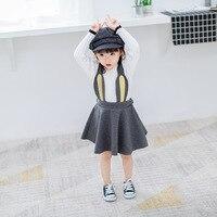 2017 New Spring And Autumn Baby Half Skirt Children Girl Dresses Girls Rabbit Rabbit Ears Twilight