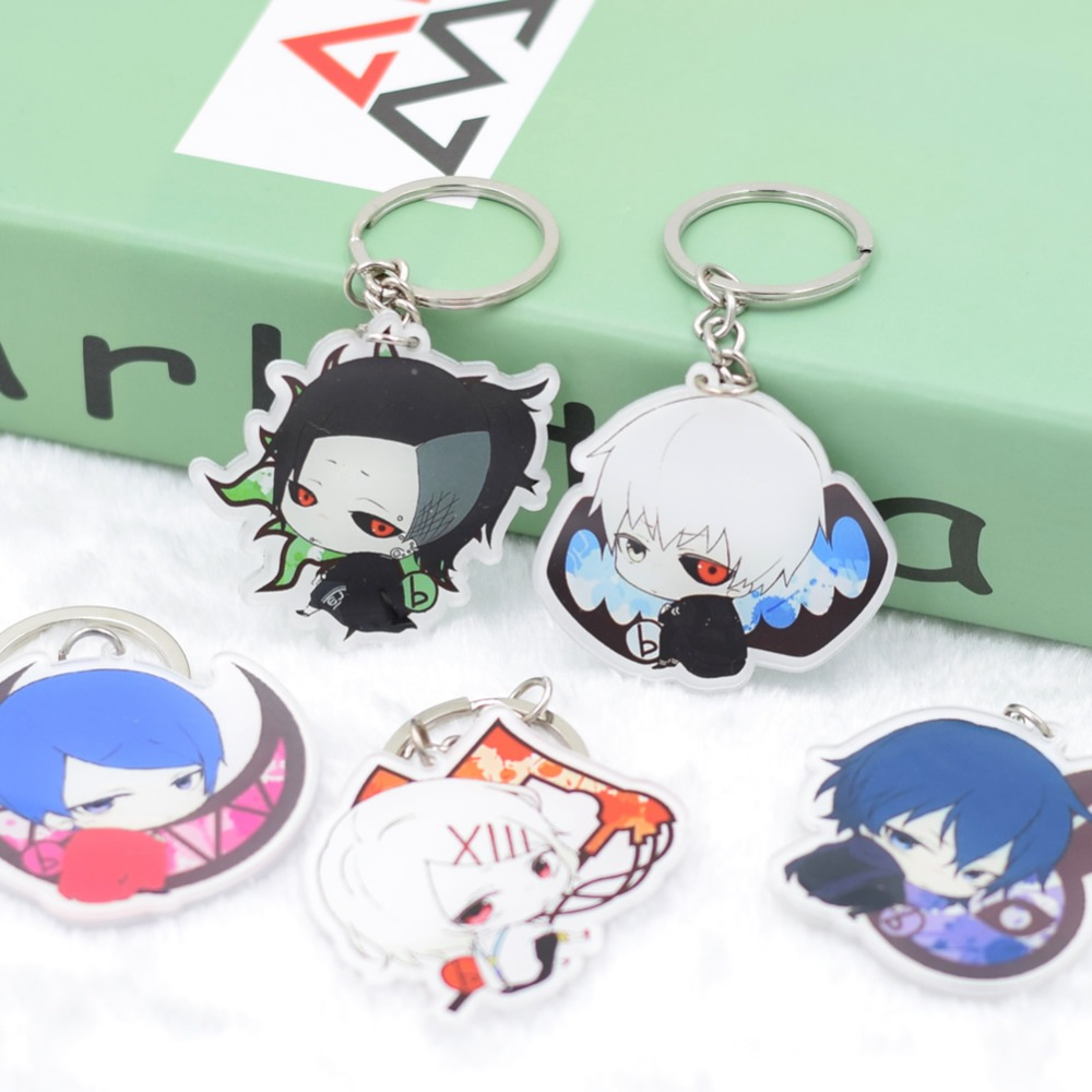 Tokyo Ghoul Kaneki Ken Touka Kirishima acrylic Keychain DIY Action Figure Pendant Car Key  Accessories 8 Styles DJSZ012  LTX1 modern home ottoman dressing stool changing room chair wedding chair decorations