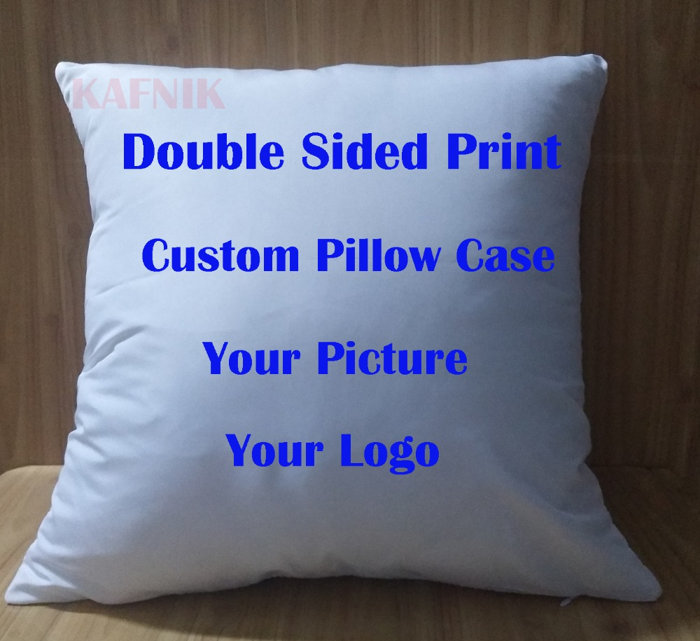KAFNIK,Custom double sided any picture Pillow Cases any size For Modern Home Decorative image