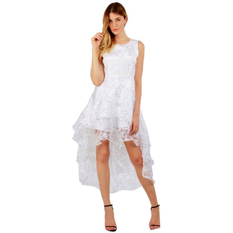 5f89c4560fad3 Summer Vestidos Solid Party Dresses Large Size Dress Sundress Women Formal  Prom Beach Girls Ball Gown Bridesmaid Irregular
