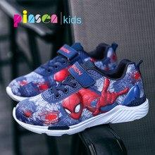 9a94c1581 2018 nuevo Spiderman zapatos de los niños zapatillas para niños zapatos de  niños de moda Casual