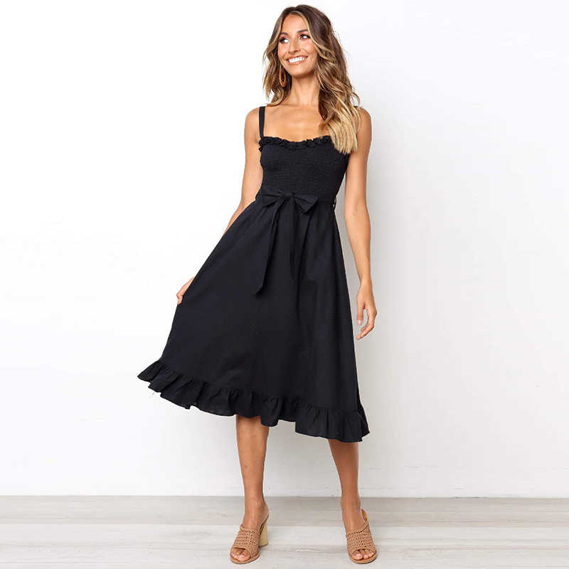 Сексуальное женское платье с бантом, летнее короткое платье для похудения, женская пляжная одежда для путешествий