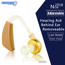 купить Ear Sound Amplifier Hearing Aid Removeable Behind The Ear Light Hearing Aids for Hearing Loss Elderly Deaf Ear Care в интернет-магазине