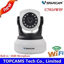 Vstarcam HD 720 P Mini Hogar C7824WIP Visión Nocturna Cámaras de Vigilancia IP Cámara de Red P2P WIFI inalámbrico con antena de 3db