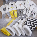 Wool kids thermal underwear set Children thick fleece long johns boys girls From 2 to 6 years old