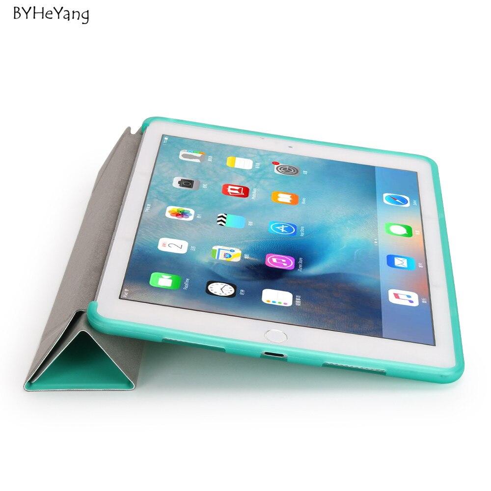 BYHeYang Durumda Yeni iPad Pro 10.5 için 2017 PU Akıllı Kapak - Tablet Aksesuarları - Fotoğraf 4