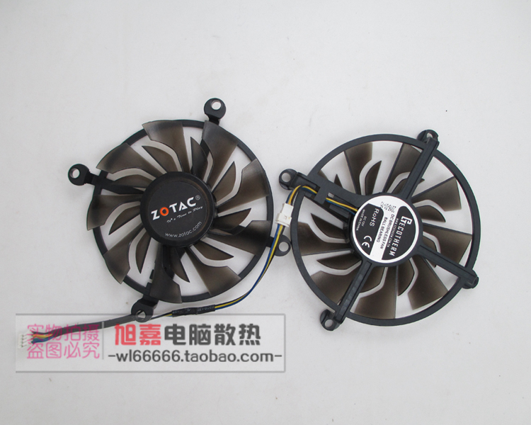 ZOTAC GTX1060 HA GTX960-4GD5 950-2GD5 graphics card fan image