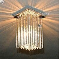 NEW E14 Modern Chrome Chandeliers L120mm Bedroom lights corridor lighting 0129