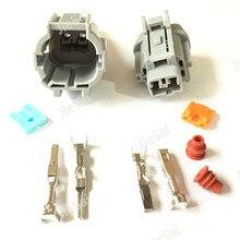 Female Male 2 Pin Light Solenoid Valve Socket Fog Lamp Automotive Connector For NISSAN TEANA