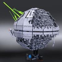 Новый 05026 05028 Звезда смерти второго поколения строительный блок кирпичи игрушки модель войны совместимые legoINGlys 10143 10221