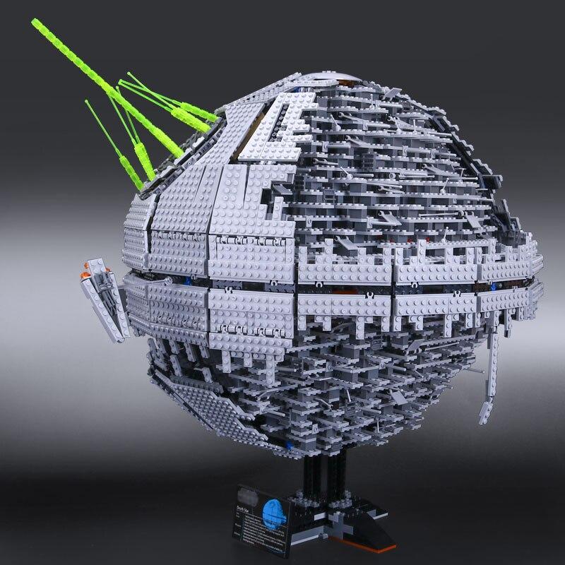 Nouveau 05026 05028 étoile de la mort la deuxième génération bloc de construction briques jouets modèle Wars Compatible legoINGlys 10143 10221