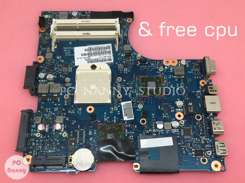 NOKOTION 611803 001 Mainboard for HP COMPAQ CQ325 325 625 laptop motherboard s1 DDR3 free CPU