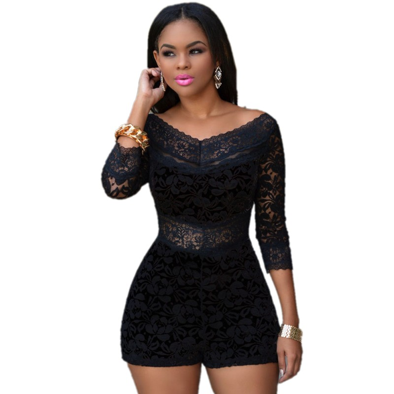 Images of Bodycon Romper - Reikian