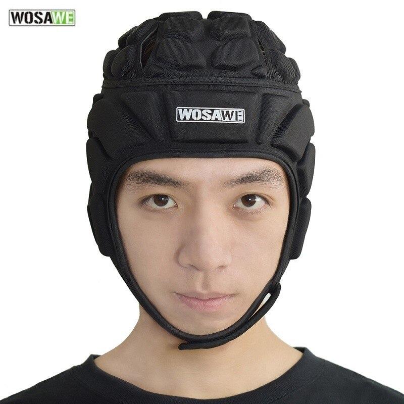 Goalkeeper Helmet Soccer Sports Rugby Cap Guard Protector Hat Headgear