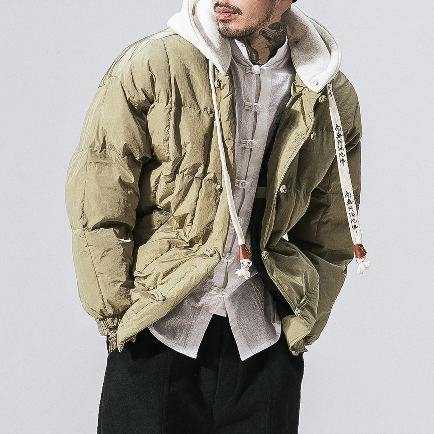 4 Colors Winter Loose Thicken Hooded Parkas Jacket Men Street Fashion Hip Hop Casual Warm Padded Cotton Coat Male Overcoat цены онлайн