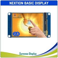 """2.8 """"NX3224T028 Nextion temel HMI akıllı USART UART seri rezistif dokunmatik TFT LCD modül ekran paneli Arduino ahududu Pi için"""