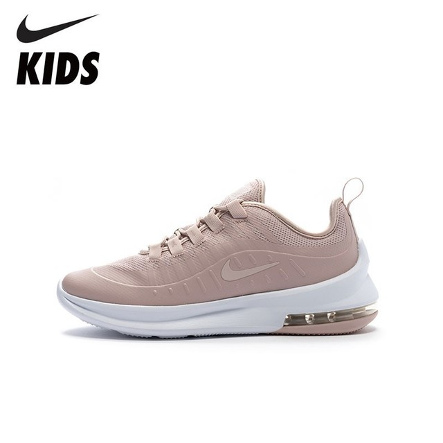 outlet store 30147 d0521 NIKE Kids AIR MAX AXIS SE (GS) New Arrival Pink Casual Cushion Shoes  Breathable Running Sneaker For Kids AR1343-600
