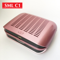 New Arrival 68W Strong Portable Nail Collecting Dust Collector Professional Nails Art Equipment vacuum cleaner manicure Machine
