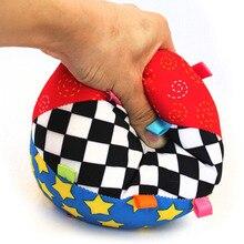 Смысл колокол обучающие музыкальный руки сжатия обучения детский ткань красочные мяч