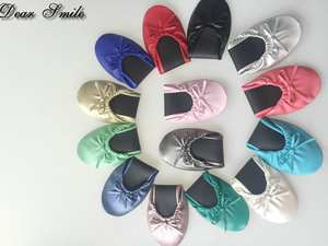 Dear Smile Lady ballerina ballet flat up shoes for wedding
