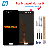 For Huawei Honor 9 Lcd Display Touch Screen High Quality Test Good Digitizer Screen Glass Panel