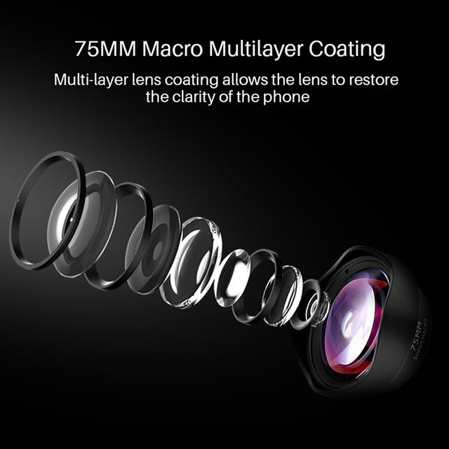 75 mm Phone Camera Macro Lens