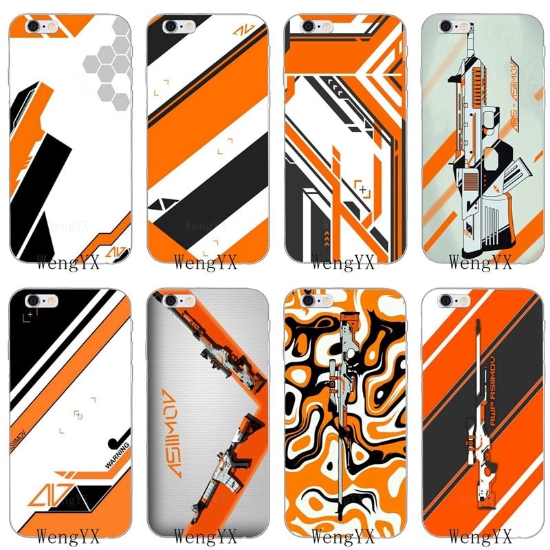 Phone Bags & Cases Purposeful Cs Go Cool Gun Asiimov Pattern Soft Phone Case For Huawei Honor 4c 5c 5x 6x V10 Y5 Y6 Y7 Ii Mate 8 9 10 P8 P9 P10 Lite Plus 2017