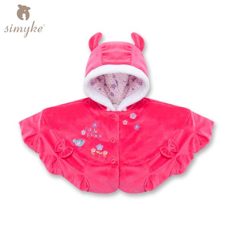 Kızlar kış kız kalın ceketler Yürüyor kız kış Ceket ve Ceket pelerin çocuk giysileri kızlar dış giyim çocuk giyim