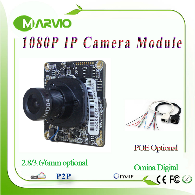 2MP Full HD 1080P High Definition CCTV IP Network Camera Board Module with Audio Supporting TF Card and WIFI Extention, POE