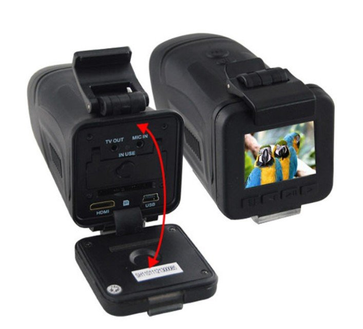 """Newest arrival!Free Shipping HT200A 1.5"""" TFT LCD Car DVR Camera! 5.0MP CMOS + 1920*1080P 30FPS +4X digital zoom waterproof!"""