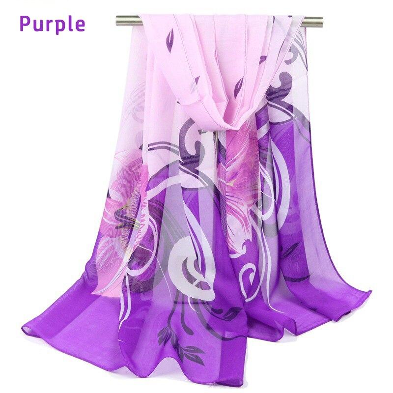 a2e10848927 2016 nueva primavera invierno verano moda chal mujeres Bufandas geometr  flor patrón señoras de la gasa de la bufanda de seda colorido 155 cm   50 cm