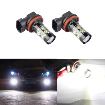 2019 H7 H11 H8 H10 9005 9006 T25 T20 1156 LED Bulb Car Fog Lights 12V 50W White Auto Projector Lamp Lighting image