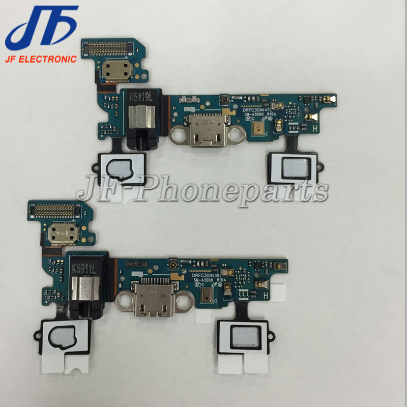 50pcslot For Samsung Galaxy A3 A300F A300H USB Charging charger connector dock Port Flex Cable Ribbon Earphone Jack sensor