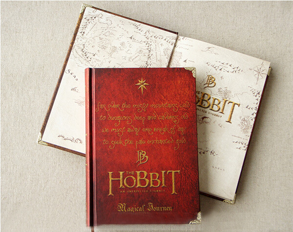The Hobbit Book Vintage Hardcover for Journals