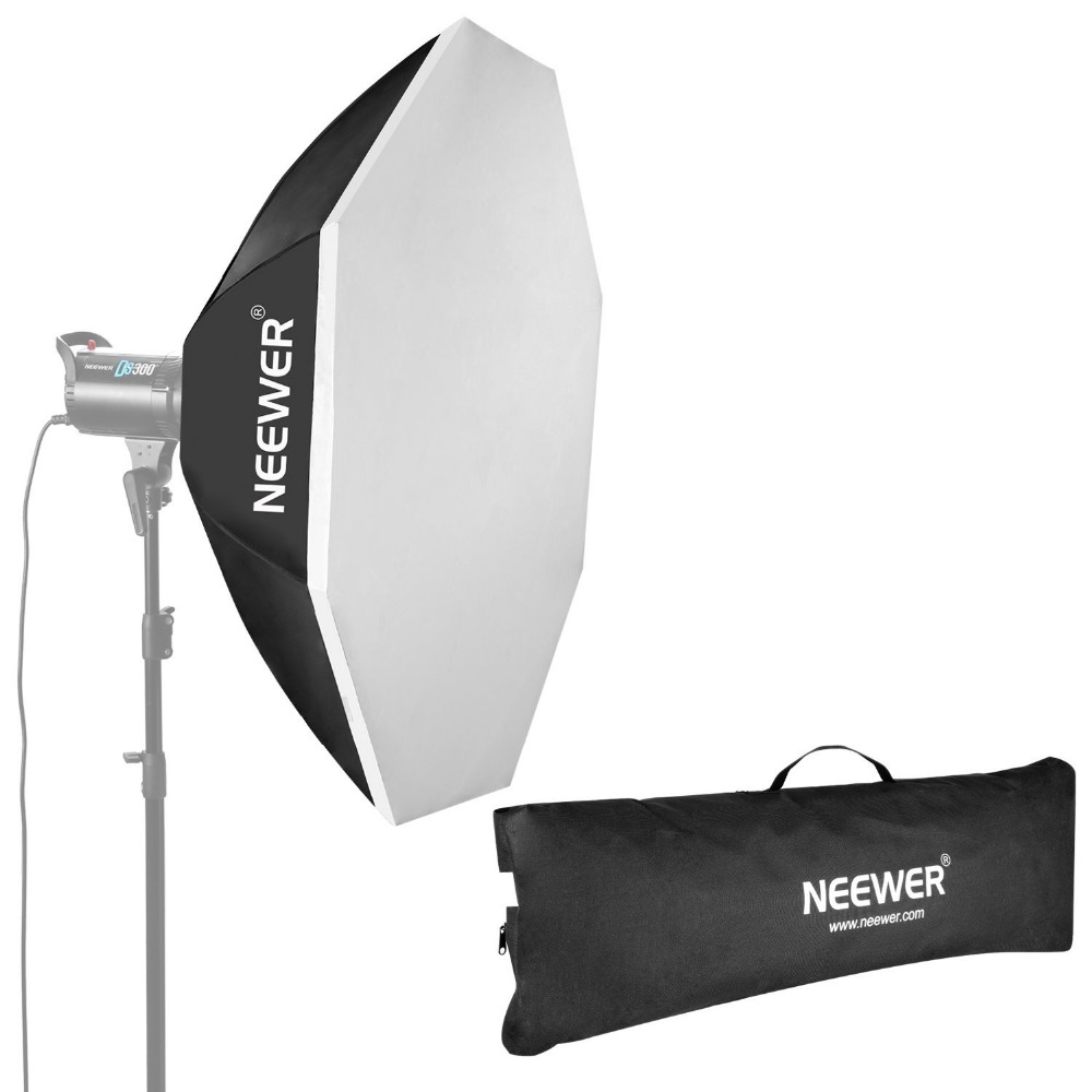 Neewer 47/120cm Beehive Octagon Umbrella Speedlite Softbox for Nikon for Canon Flash Light with Bowens Mount Speedring godox ubw 120cm softbox professional portable octagonal umbrella softbox with bowens mount for speedlite flash