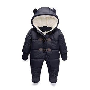 d810ba7e5 Teenmiro Winter Baby Children Boy Girl Jumpsuit snowsuit