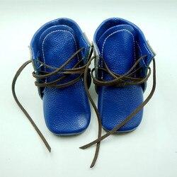 نمط جديد جلد طبيعي أحذية أطفال طويلة حذاء طفل الأولى مشوا تصميم طفل رضيع الأخفاف gils الصبي أحذية شحن مجاني