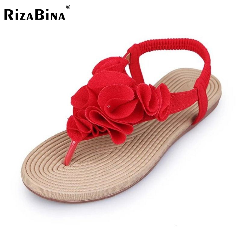 New Arrived Summer Women Sandals Flip Flats Flower Sample Slip On Leisure Shoes Women Solid Fashion Sandal Footwear Size 36-40 шлепанцы hurley sample phantom sandals rifle