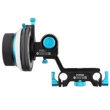 FOTGA DP500 IIS Amortir A/B Hard Stop Follow Focus pour CCMB F55 5DIII NEX FS700 PXW FS7 C100 C300 F3 GH4 GH5 A7 A7III A7R GH5 GH6