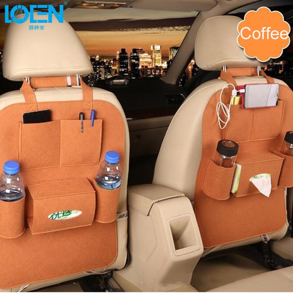 1 UNIDS Auto Asiento de Coche Organizador de Misceláneas Holder - Accesorios de interior de coche - foto 4