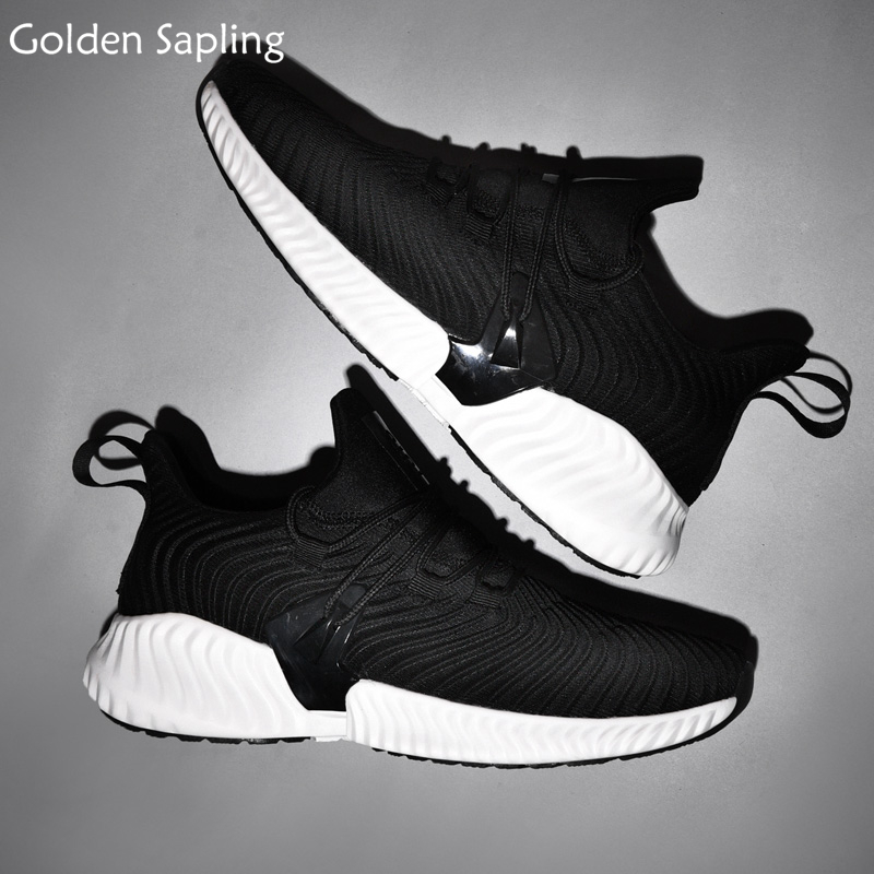 Golden Sapling Man Sneakers Air Mesh Running Shoes for Men Breathable Trail Run Men's Sneakers Trainers Winter Male Sport Shoes цены