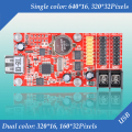 BX-5UL U-disk USB led controller card for single&dual color led display