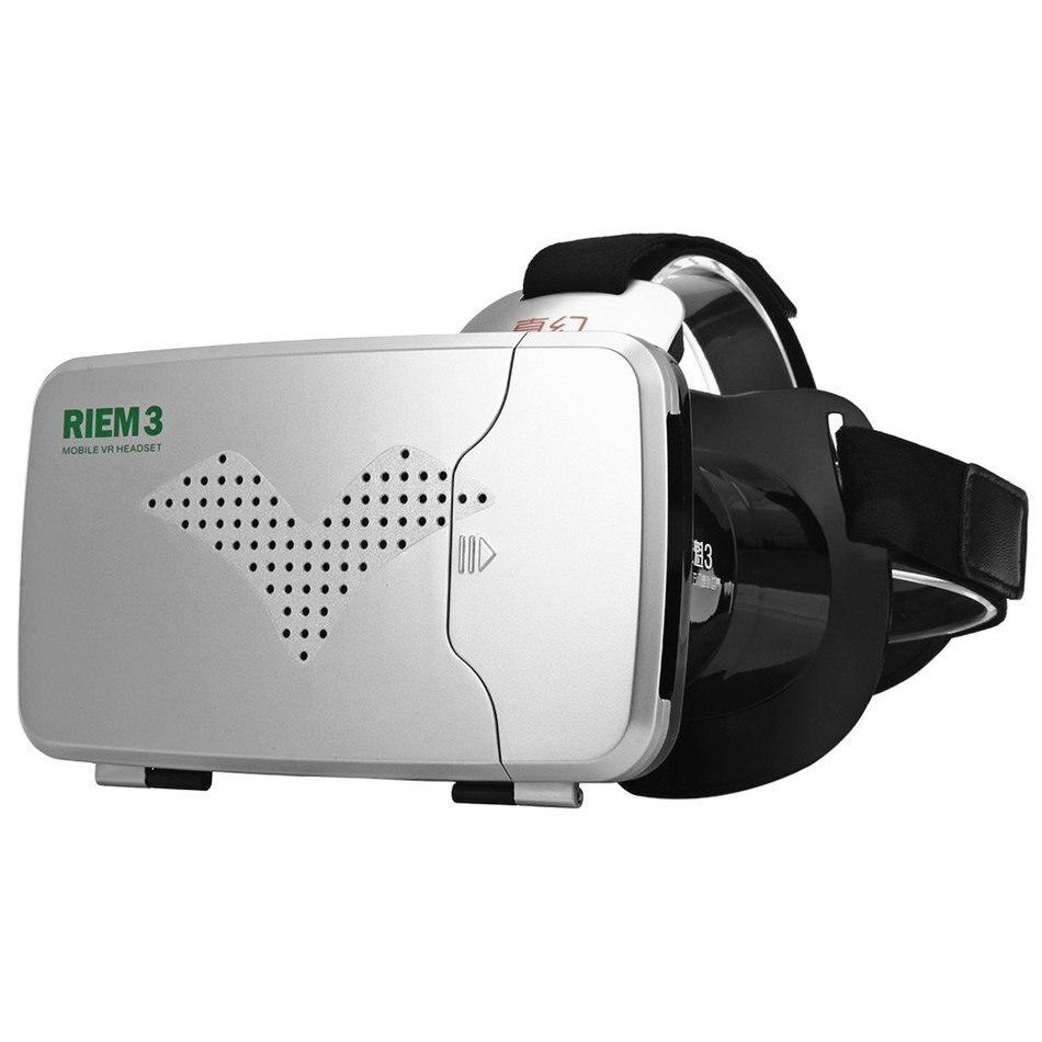 New Arrival <font><b>RITECH</b></font> <font><b>Riem</b></font> 3 Virtual Reality 3D <font><b>VR</b></font> <font><b>Glasses</b></font> Head Mounted Headset Private Theater for 3.5 - 6 inches Smartphone