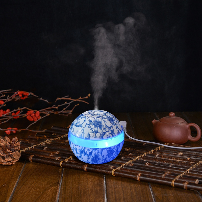 New 300ml Electric Ultrasonic Air Humidifier Aromatherapy Essential Oil Diffuser Aromatherapy USB Home Classic