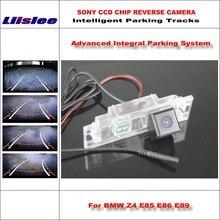 Liislee Parcheggio Rear View Camera Per BMW Z4 E85 E86 E89/Reverse Back Up Camera/580 Linee TV Guida Dinamica Tragectory