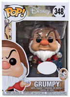 Exclusive FUNKO POP Official Snow White - Grumpy w/ Pick and Diamond Vinyl Action Figure Collectible Model Toy with Original Box